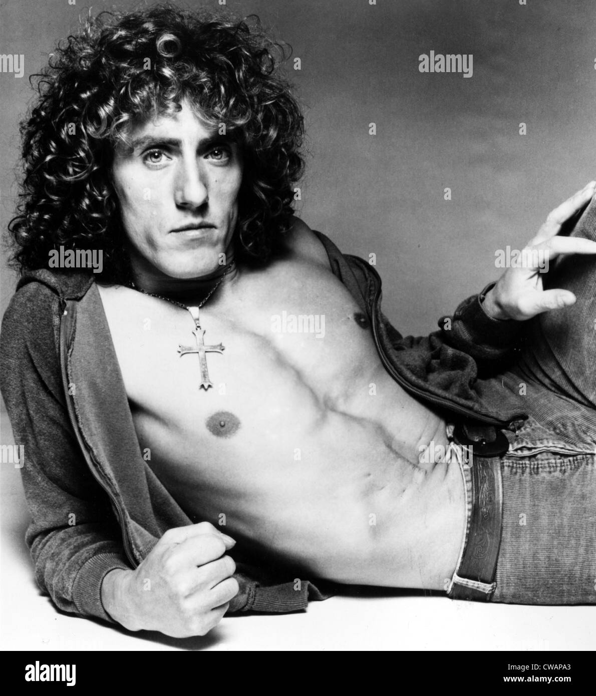 Roger Daltrey, circa early-mid 1970s. Courtesy: CSU Archives / Everett Collection - Stock Image