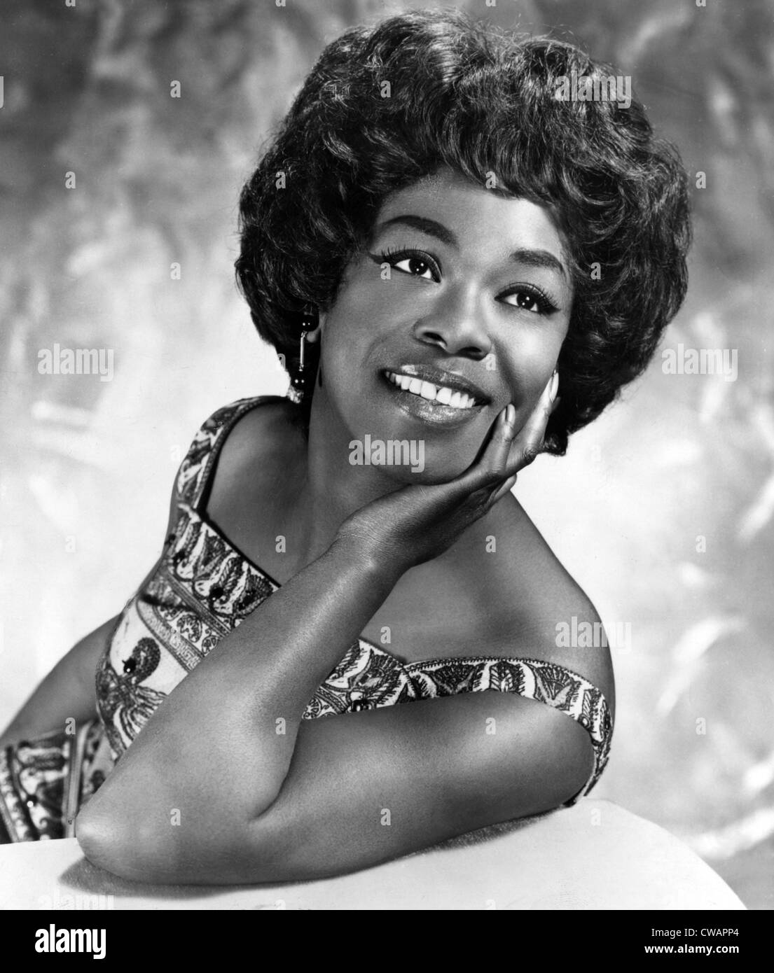 Sarah Vaughan, early 1960s.. Courtesy: CSU Archives / Everett Collection - Stock Image