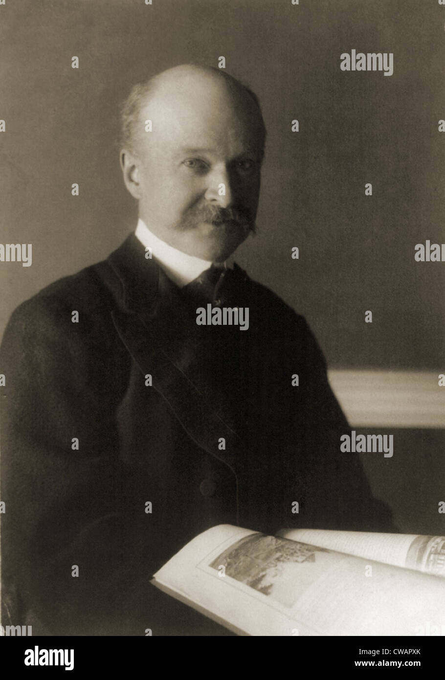 Charles Follen McKim (1847-1909), a partner in the prominent architectural firm McKim, Mead, and White, designed - Stock Image