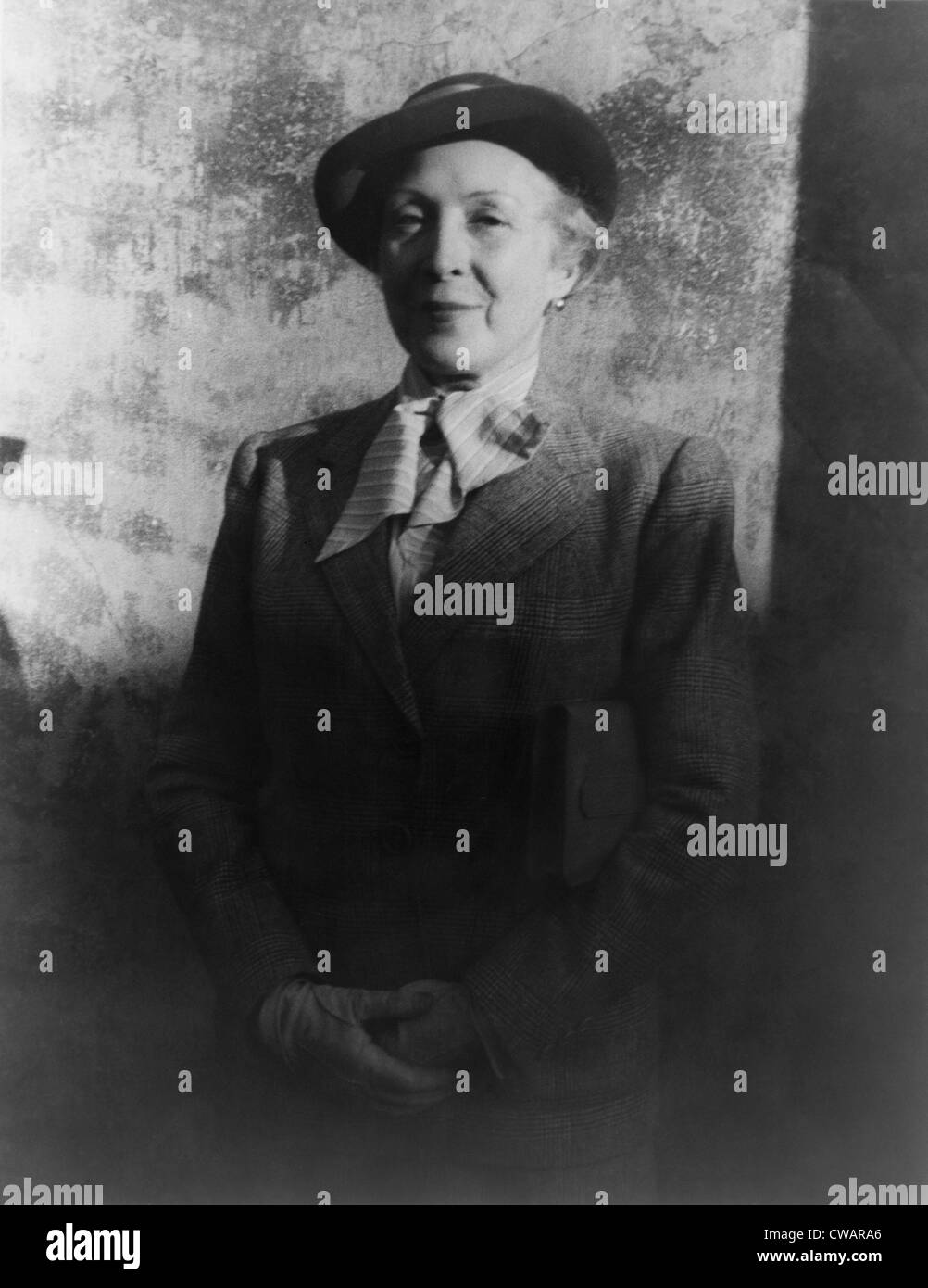 Marie Laurencin (1883-1956), French painter and printmaker who associated with Paris avant- garde and Cubists.  - Stock Image