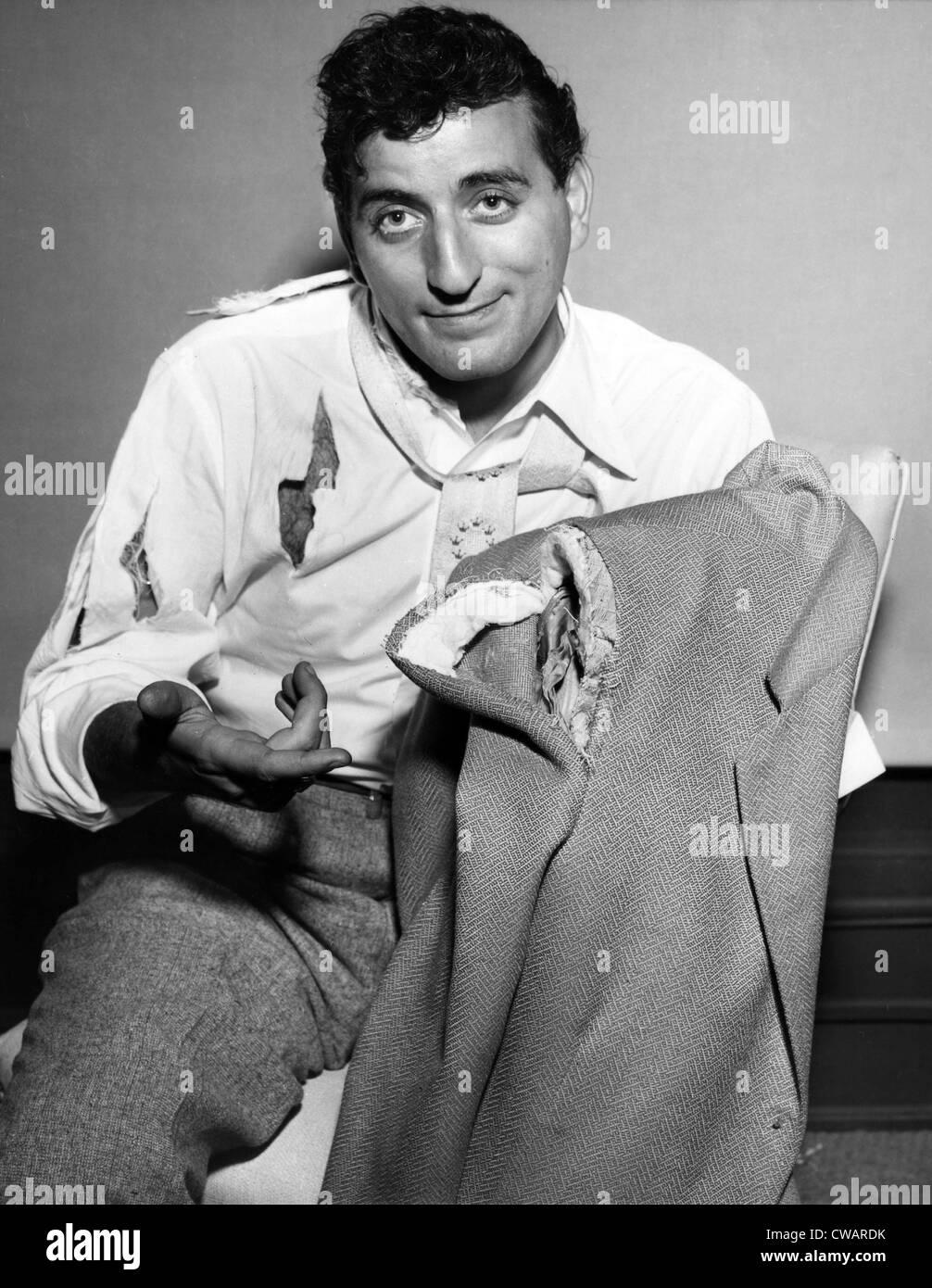 Tony Bennett, c. 1956.. Courtesy: CSU Archives / Everett Collection - Stock Image
