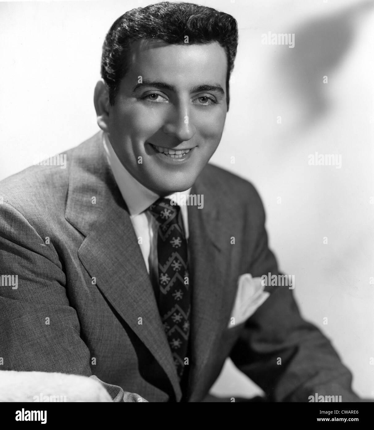 Tony Bennett, c. 1952.. Courtesy: CSU Archives / Everett Collection - Stock Image