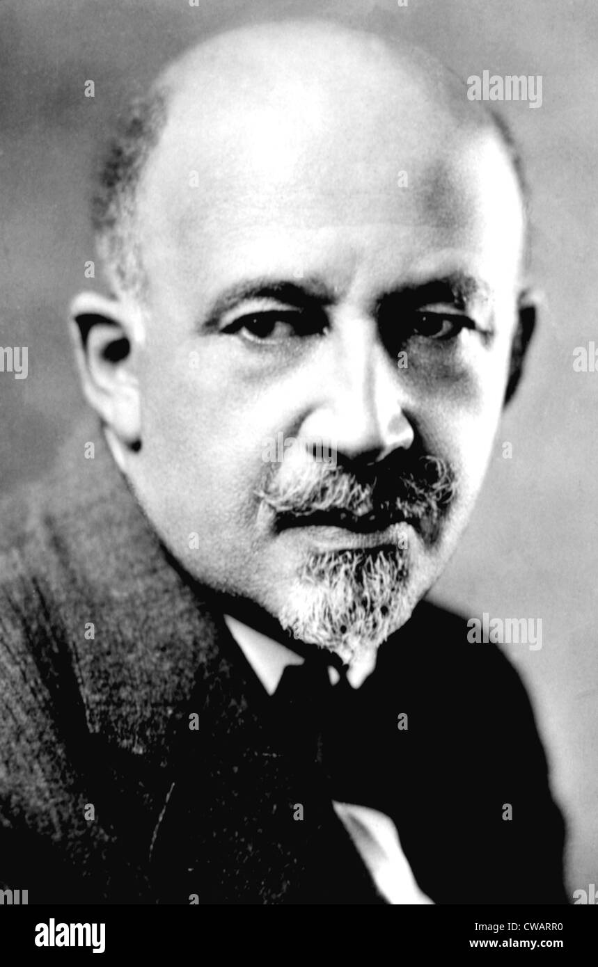 W.E.B. DUBOIS, African American intellectual and one of the founders of the NAACP. Courtesy: CSU Archives / Everett Stock Photo