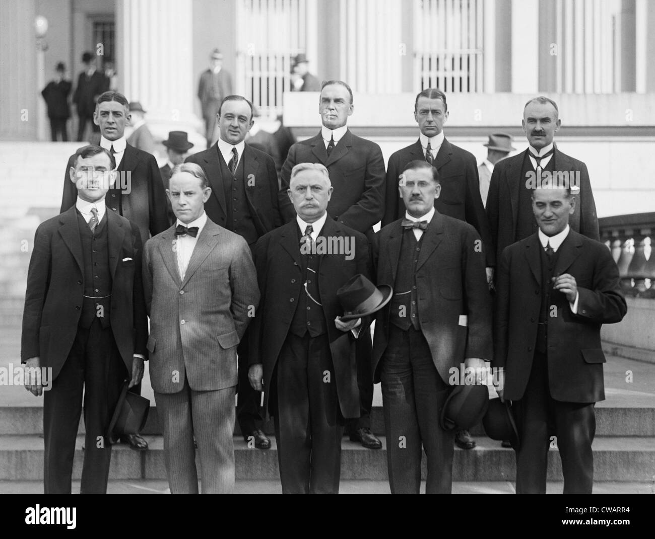 The Federal Reserve Board of Governors in 1914  Benjamin