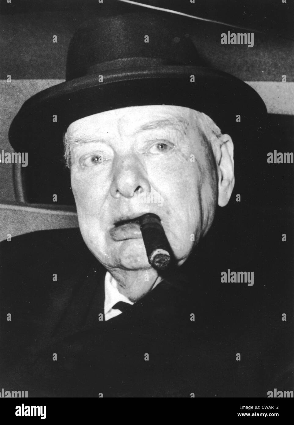 Winston Churchill, 1963. Courtesy: CSU Archives / Everett Collection - Stock Image