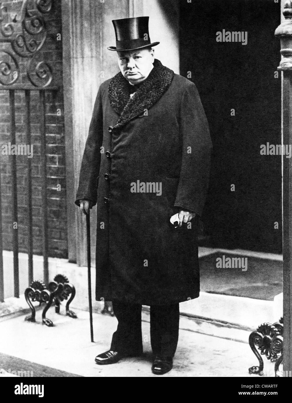 Winston Churchill, 1963. Courtesy: CSU Archives/Everett Collection - Stock Image