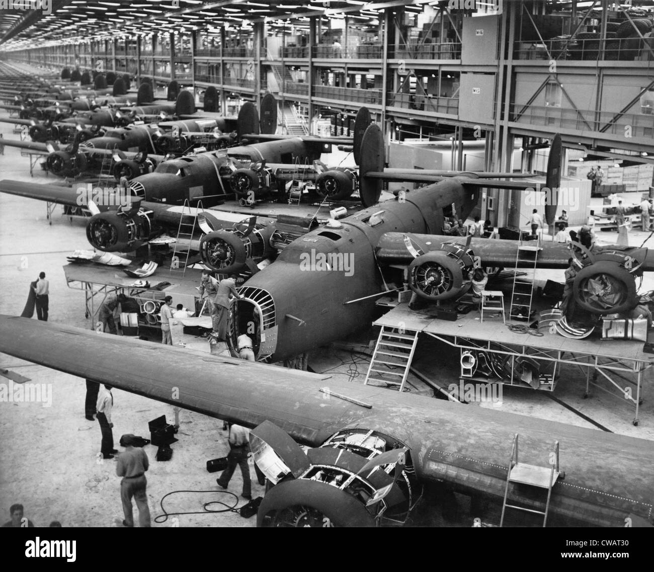 Aircraft Assembly Black And White Stock Photos Amp Images