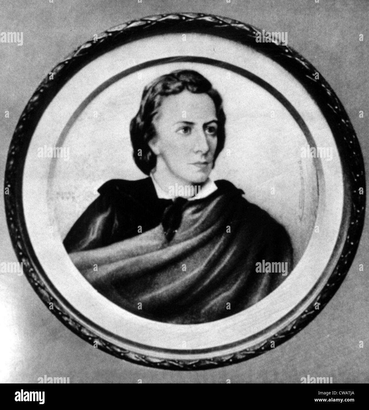 Frederic Chopin. Courtesy: CSU Archives / Everett Collection - Stock Image