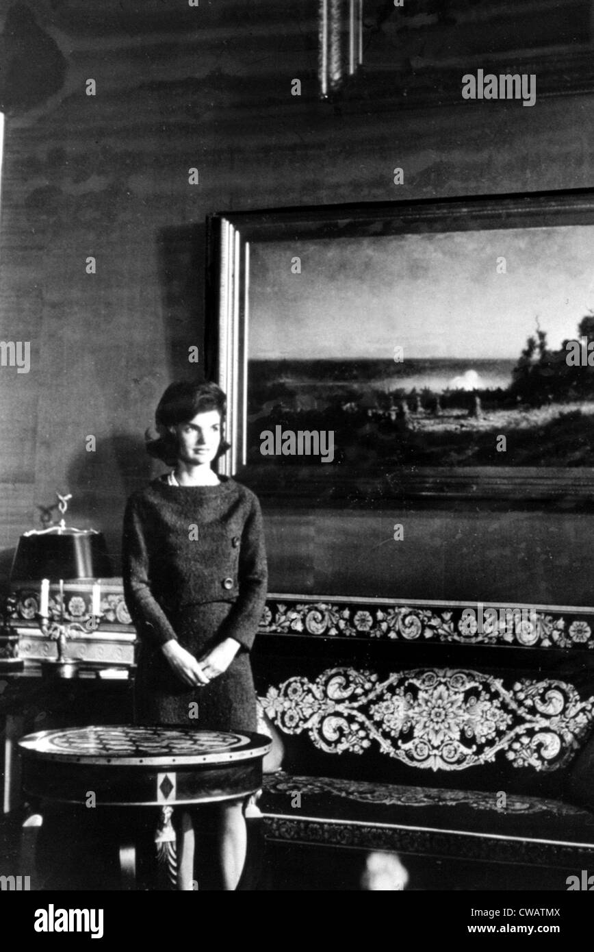 Jacqueline Kennedy. Courtesy: CSU Archives / Everett Collection - Stock Image