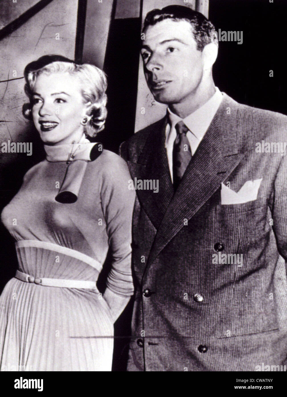 Marilyn Monroe, Joe DiMaggio, 1952. Courtesy: CSU Archives / Everett Collection - Stock Image