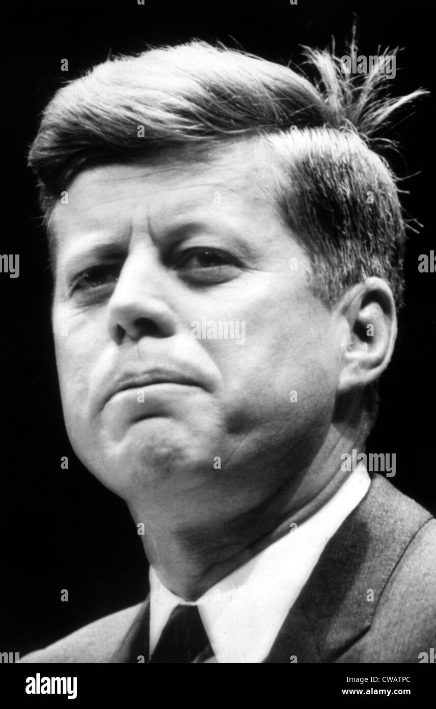 JOHN F. KENNEDY, 11/19/63. Courtesy: CSU Archives / Everett Collection - Stock Image