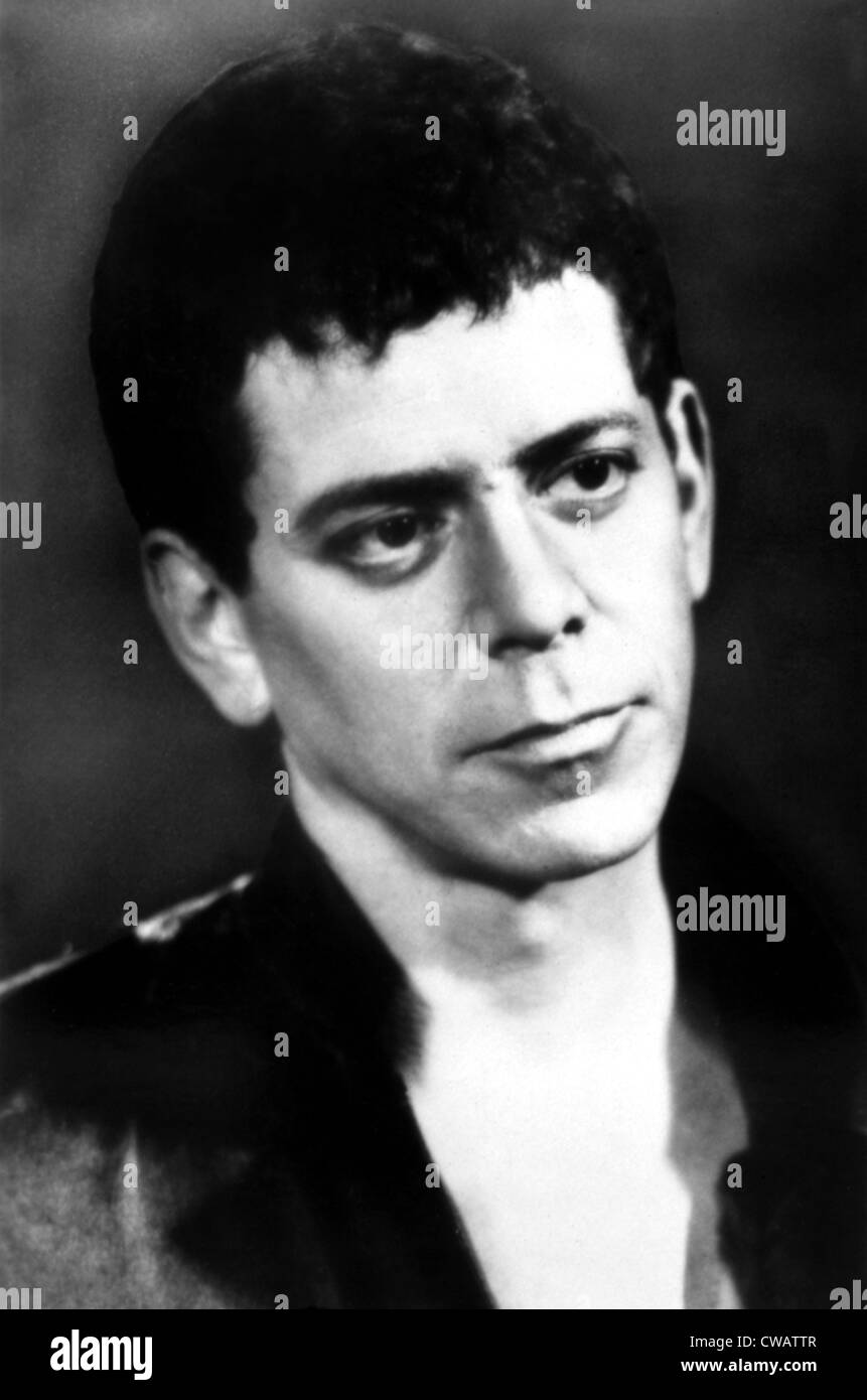 Lou Reed, ca 1980s. Courtesy: CSU Archives / Everett Collection - Stock Image