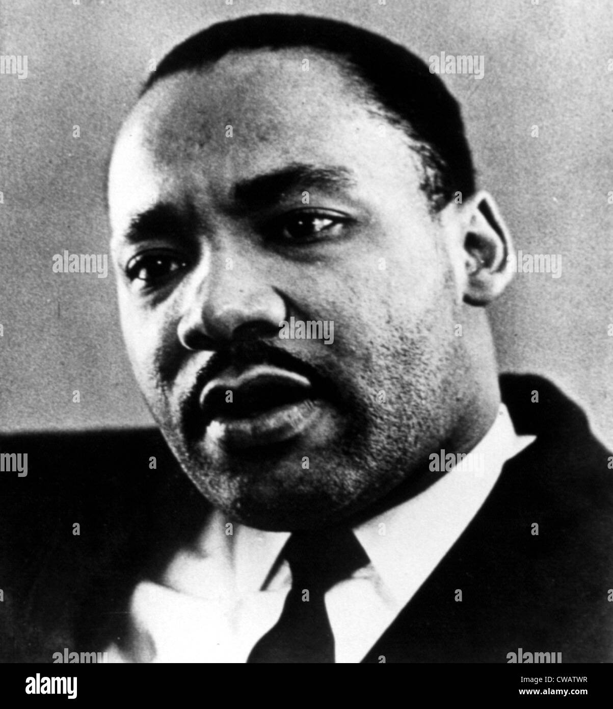 MARTIN LUTHER KING, JR.. Courtesy: CSU Archives / Everett Collection - Stock Image
