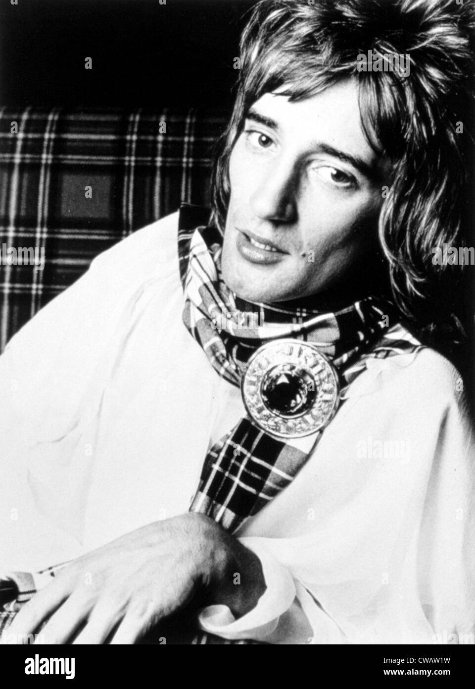 Rod Stewart, early 1970s. Courtesy: CSU Archives / Everett Collection - Stock Image