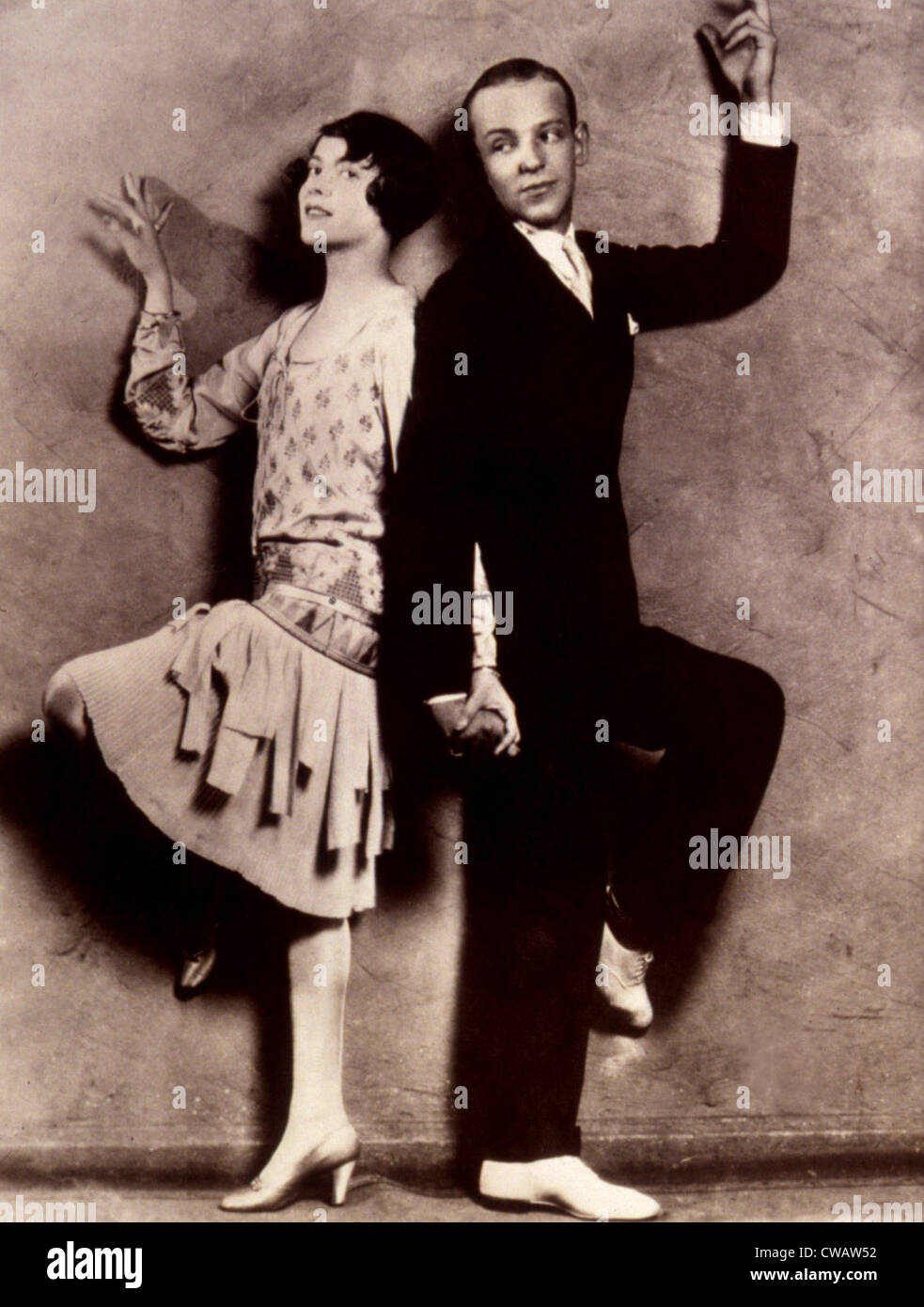 ADELE ASTAIRE and FRED ASTAIRE, 1932. Courtesy: CSU Archives / Everett Collection - Stock Image