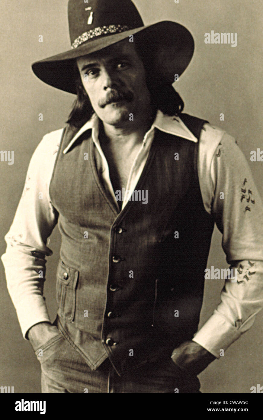 JOHNNY PAYCHECK, c. 1970s. Courtesy: CSU Archives / Everett Collection - Stock Image