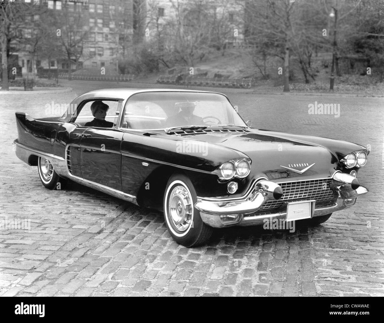 Cadillac Eldorado Broughman, 1950's. Courtesy: CSU Archives / Everett Collection - Stock Image