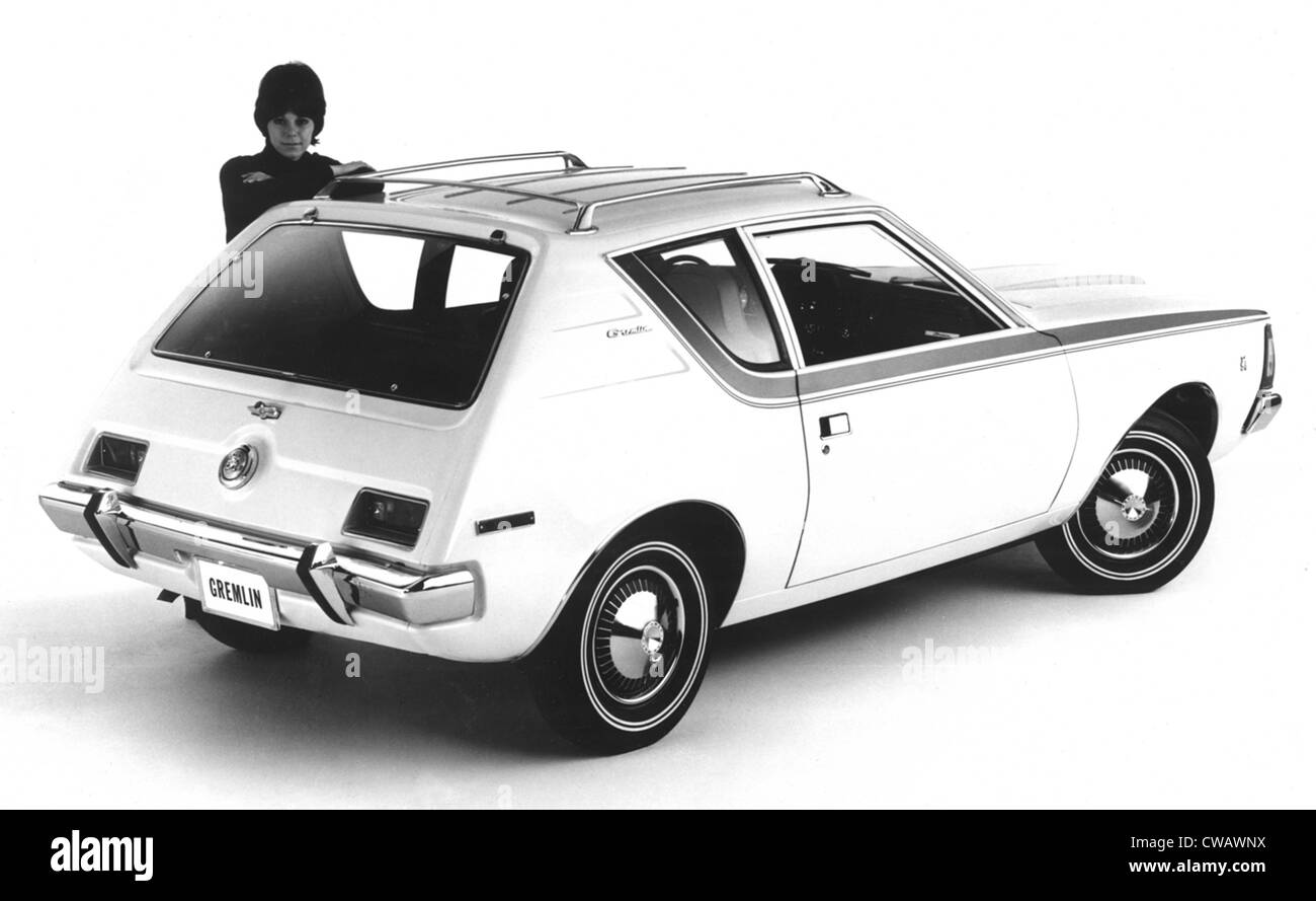 American Motors\' The Gremlin, the first US built two-door subcompact ...
