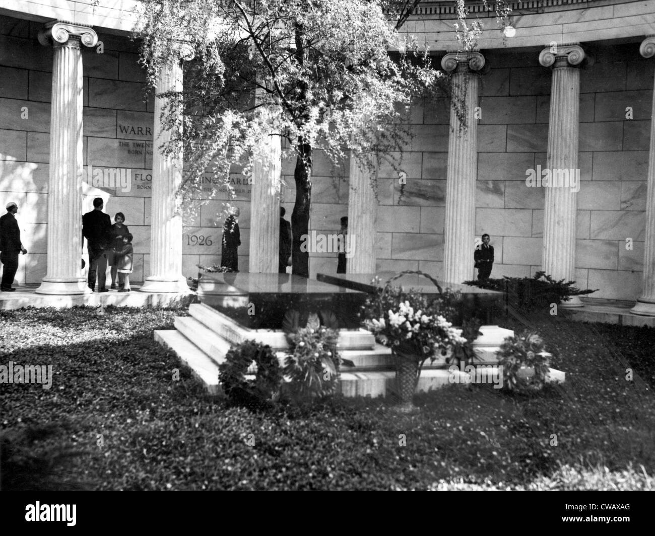 Tomb of Warren G. Harding, 29th President of the United States (1921-1923).. Courtesy: CSU Archives / Everett Collection - Stock Image