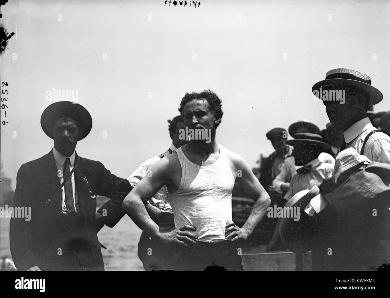 Harry Houdini, c. 1910s - Stock Image
