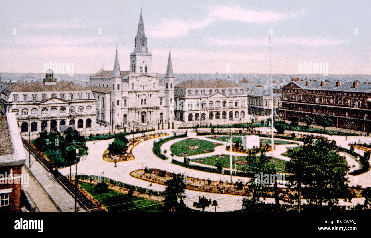 Jackson Square, New Orleans - Stock Image