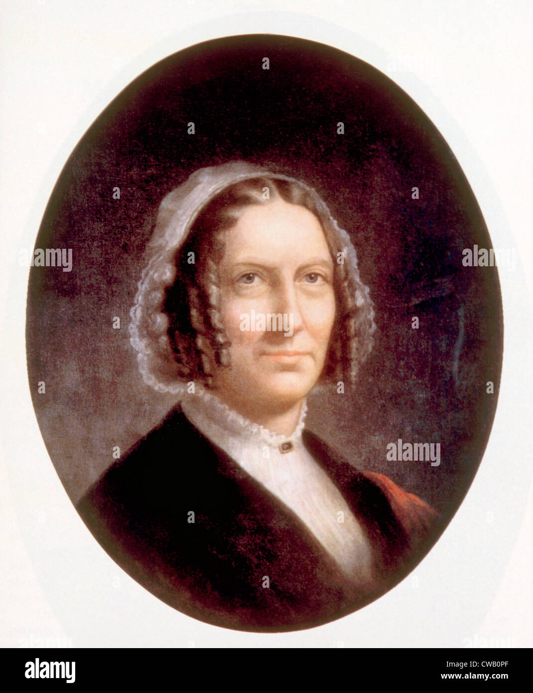 Abigail Fillmore (1798-1853), First Lady (1850-1853) - Stock Image