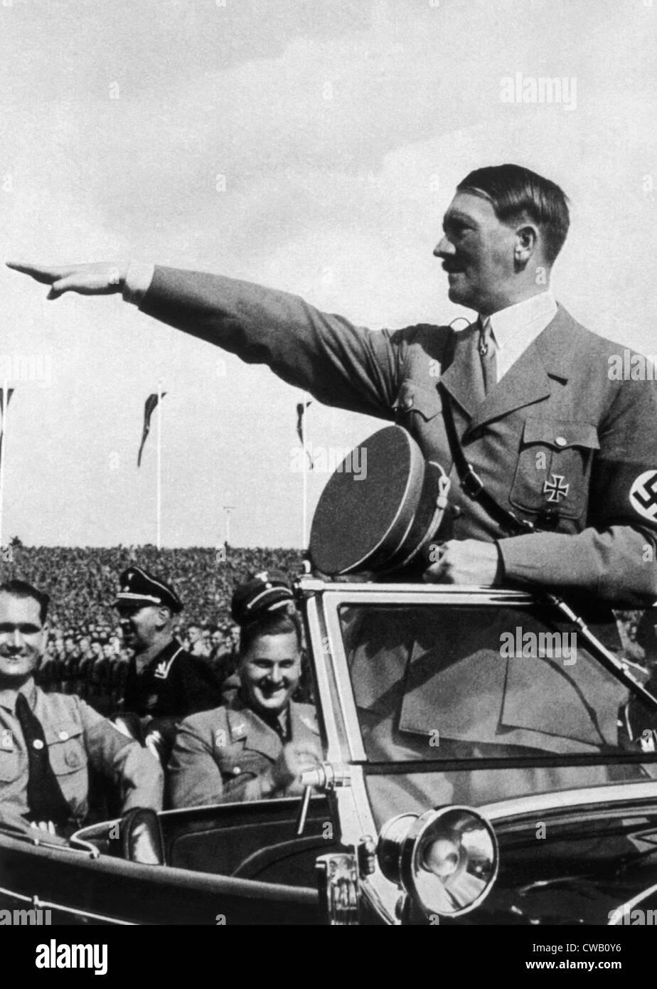 Adolf Hitler at Reichsparteitag, 1935 - Stock Image