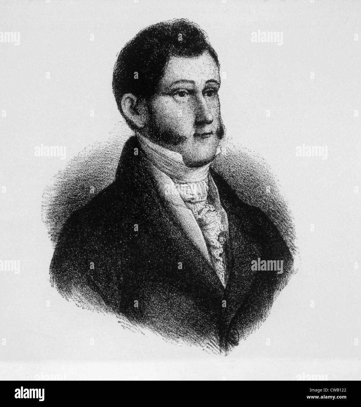 Augustin de Iturbide (1783-1824), emperor of Mexico (1822-1823) Stock Photo