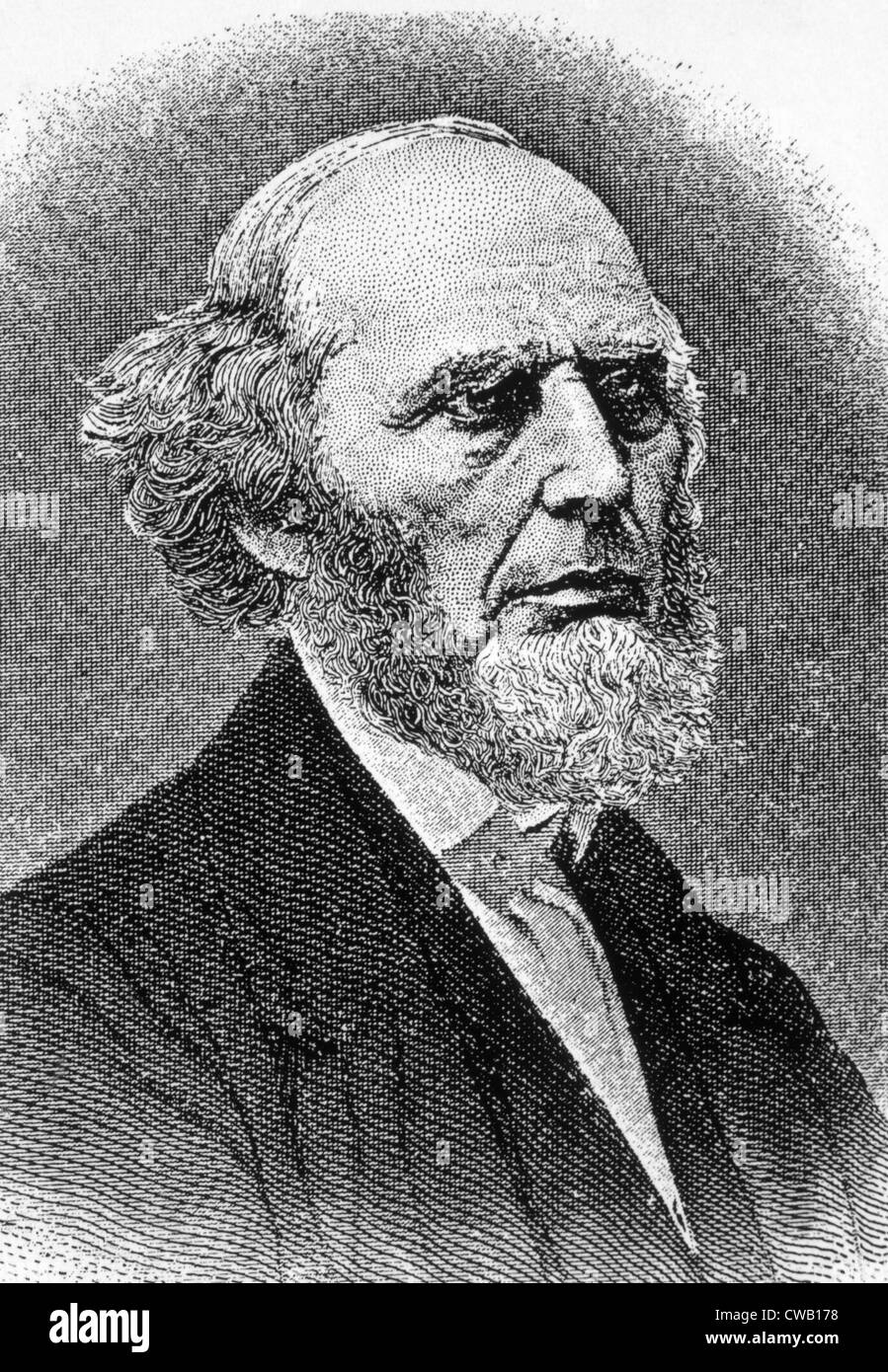 Charles Finney (1792-1875), evangelist and president of Oberlin College - Stock Image