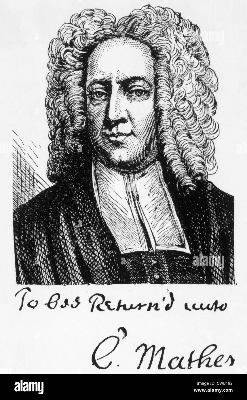 Cotton Mather (1663-1728)