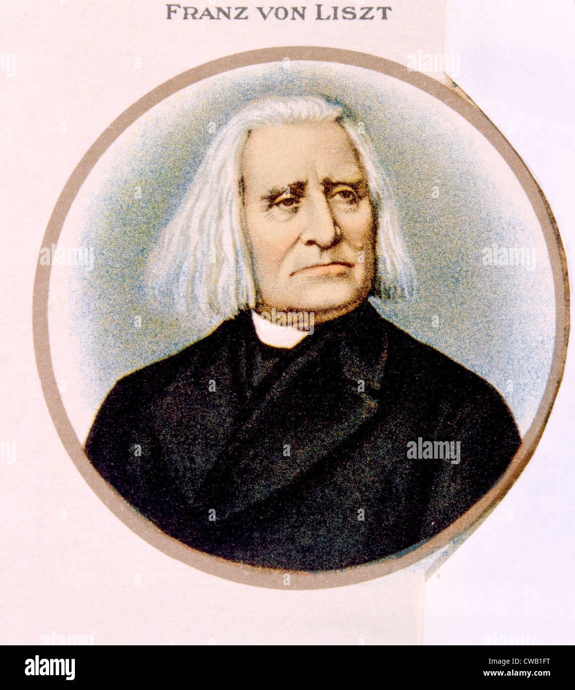 Franz Liszt (1811-1836) - Stock Image