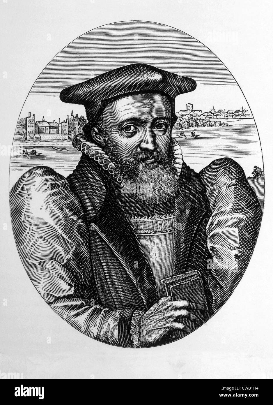 George Abbot (1562-1633), Archbishop of Canterbury from 1611-1633 - Stock Image