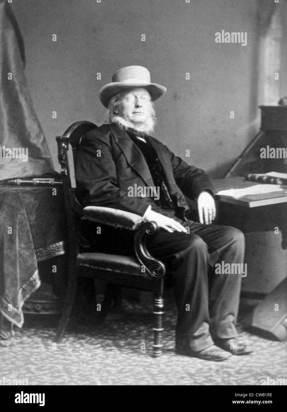 Horace Greeley (1811-1872) - Stock Image
