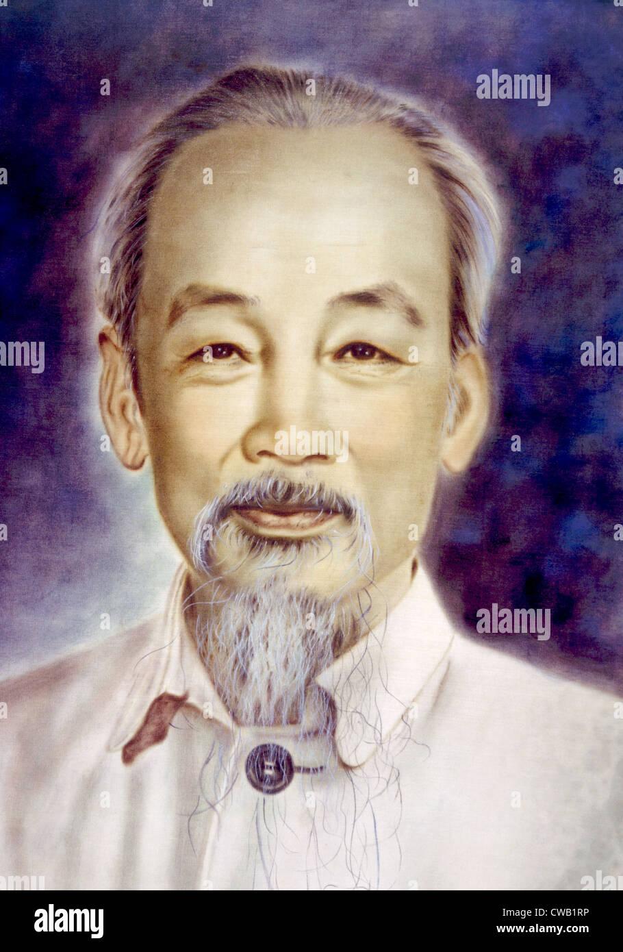 Ho Chi Minh (1890-1969) - Stock Image