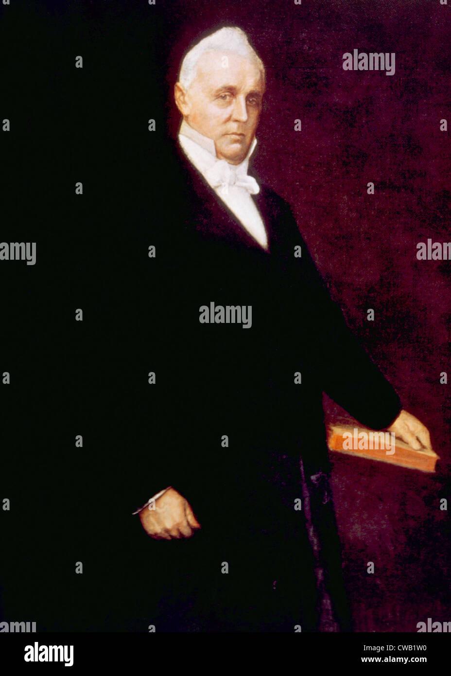 James Buchanan (1791-1868), American President (1857-1861) - Stock Image