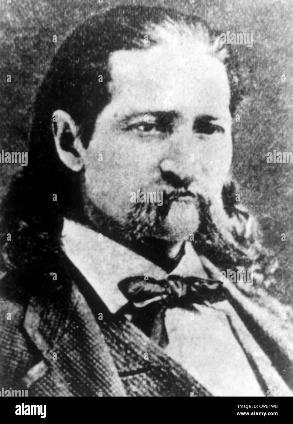 James Butler Hickok (aka Wild Bill Hickok) (1837-1876) - Stock Image