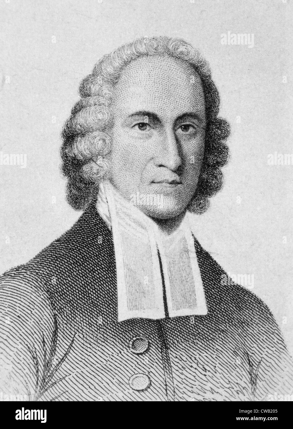 Jonathan Edwards (1703-1758) - Stock Image