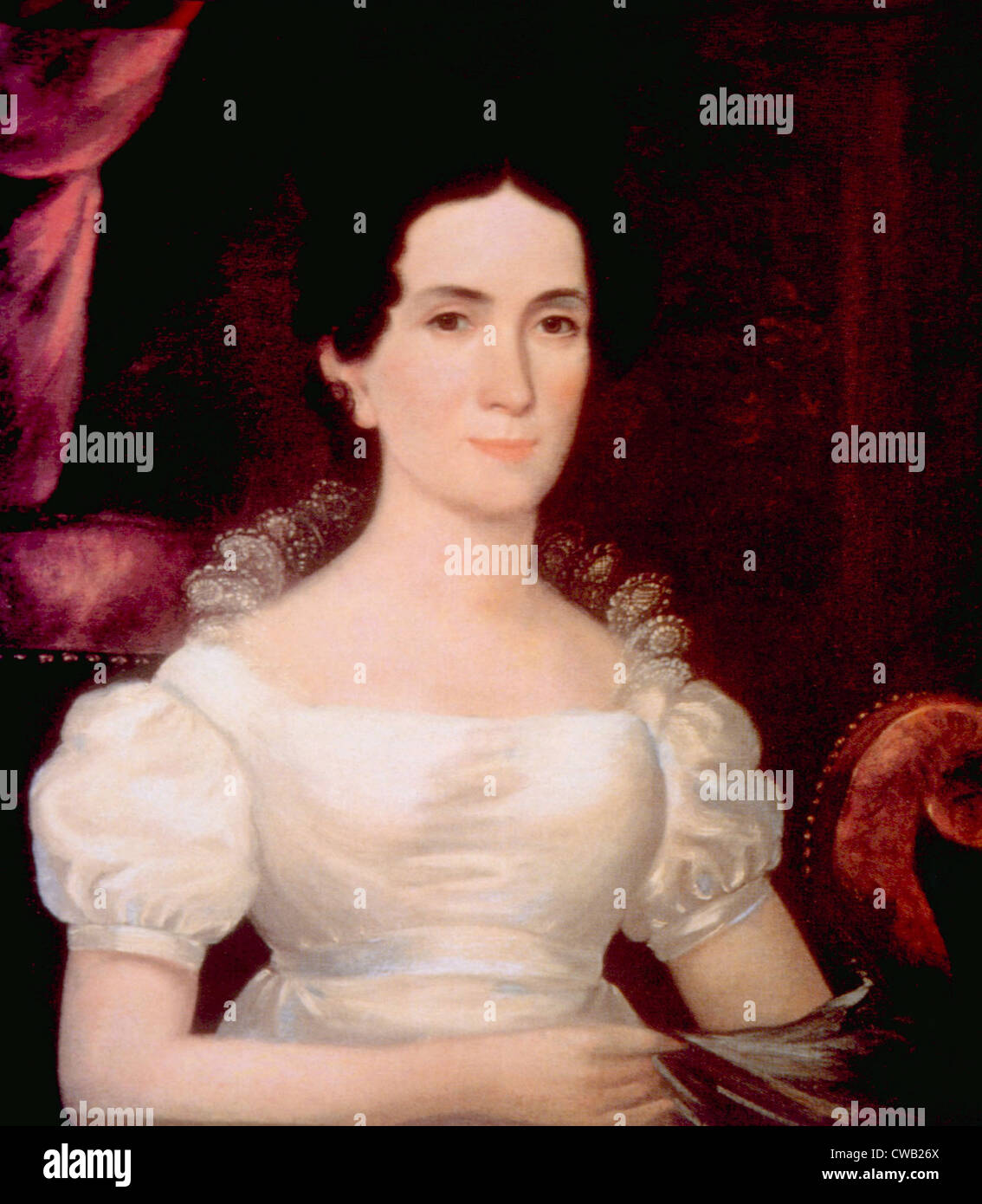 Letitia Tyler (1790-1842), First Lady (1841-1842) - Stock Image