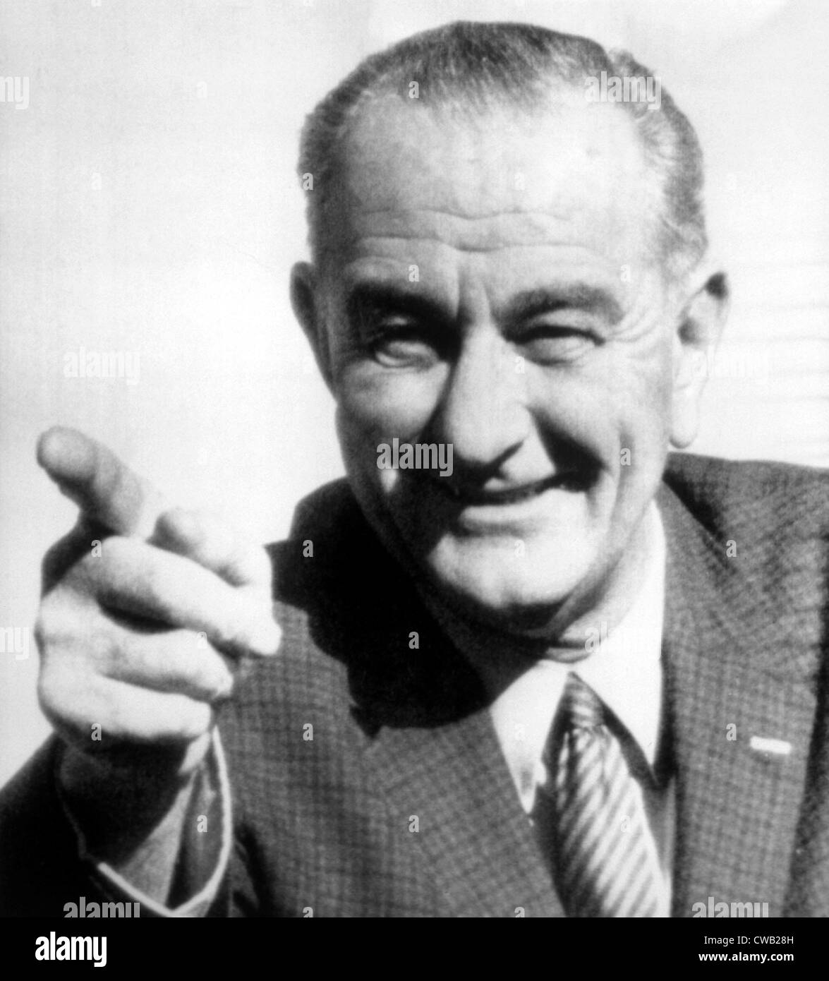 Vice President Lyndon B. Johnson, photograph from 1963 - Stock Image
