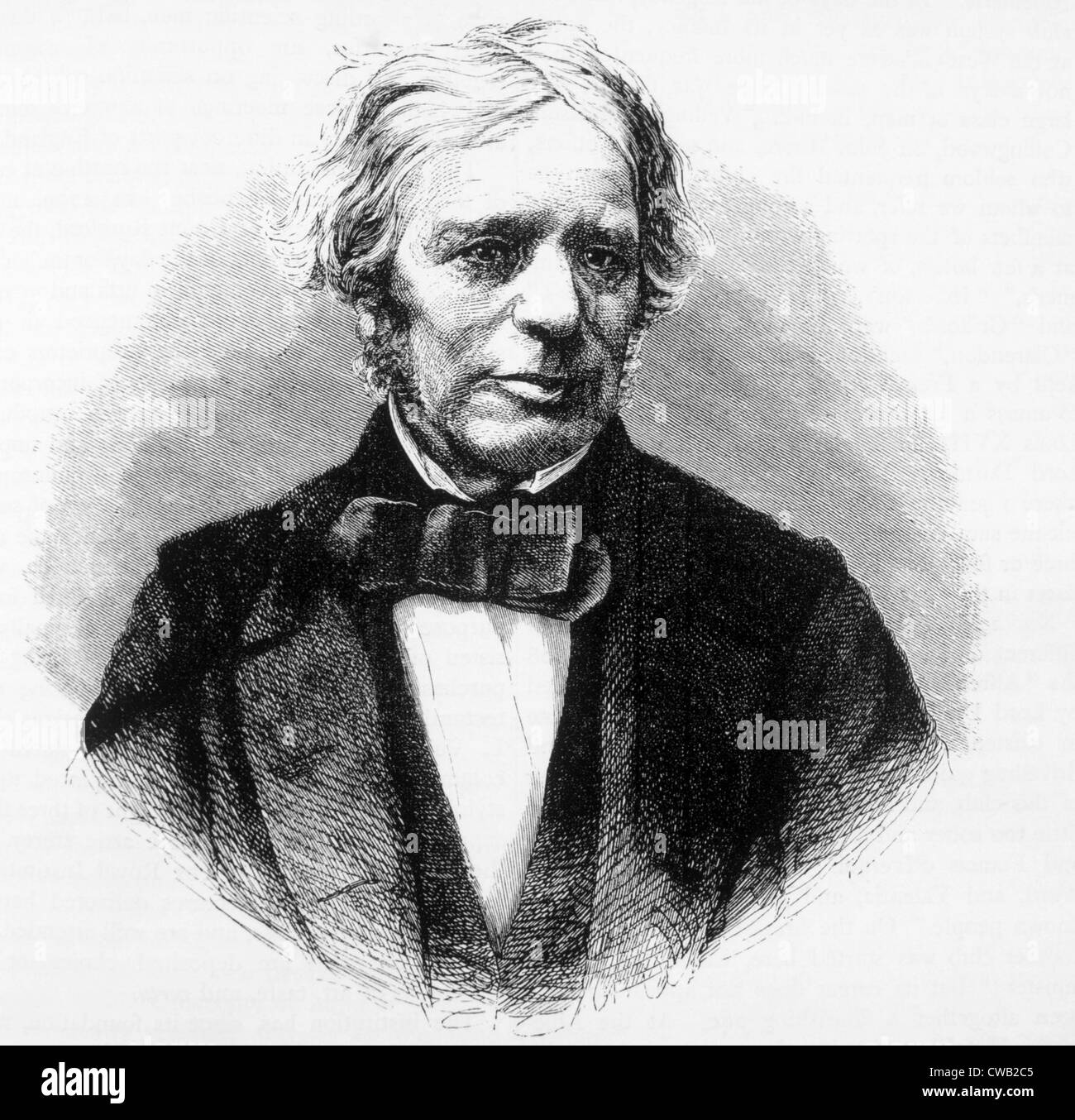 Michael Faraday (1791-1867), discoverer of electromagnetic induction (1831) and formulator of Faraday's Law - Stock Image