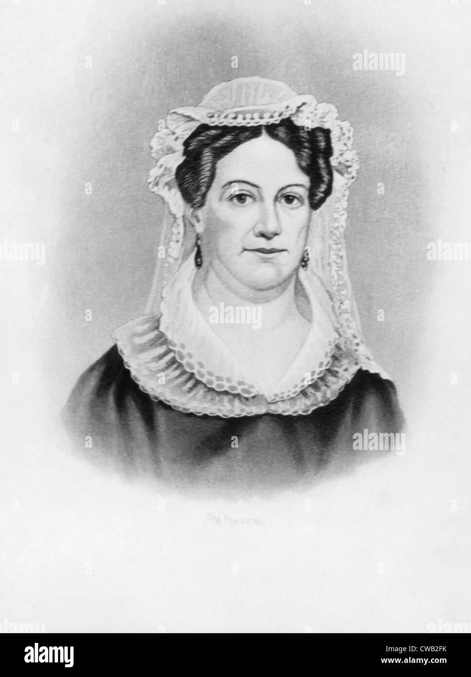 Rachel Jackson (1767-1828), wife of Andrew Jackson - Stock Image