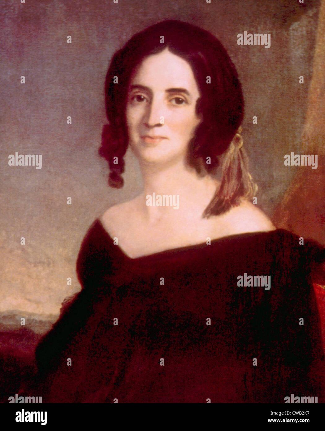 Sarah Polk (1803-1891), First Lady (1845-1849) - Stock Image