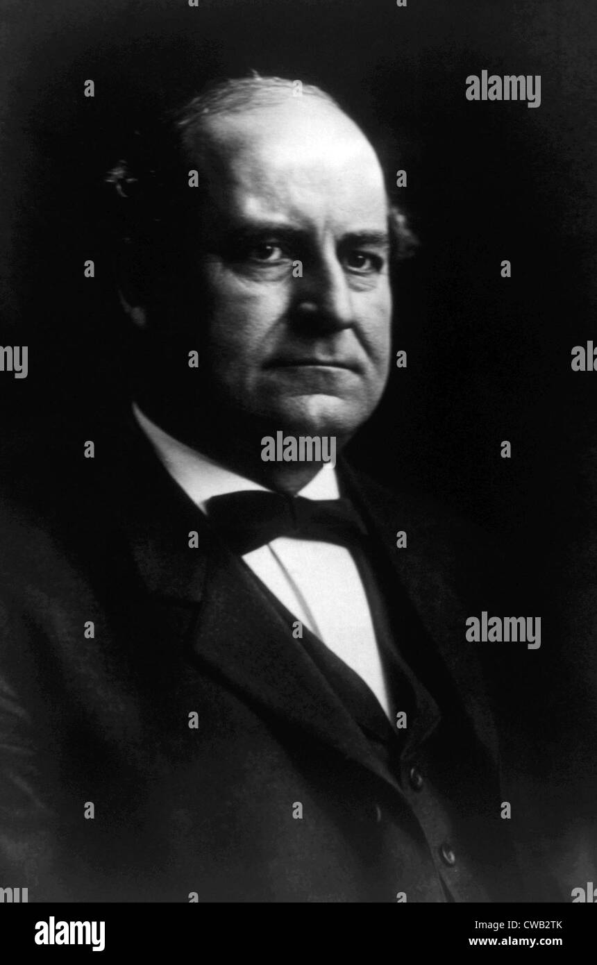 William Jennings Bryan (1860-1925) - Stock Image