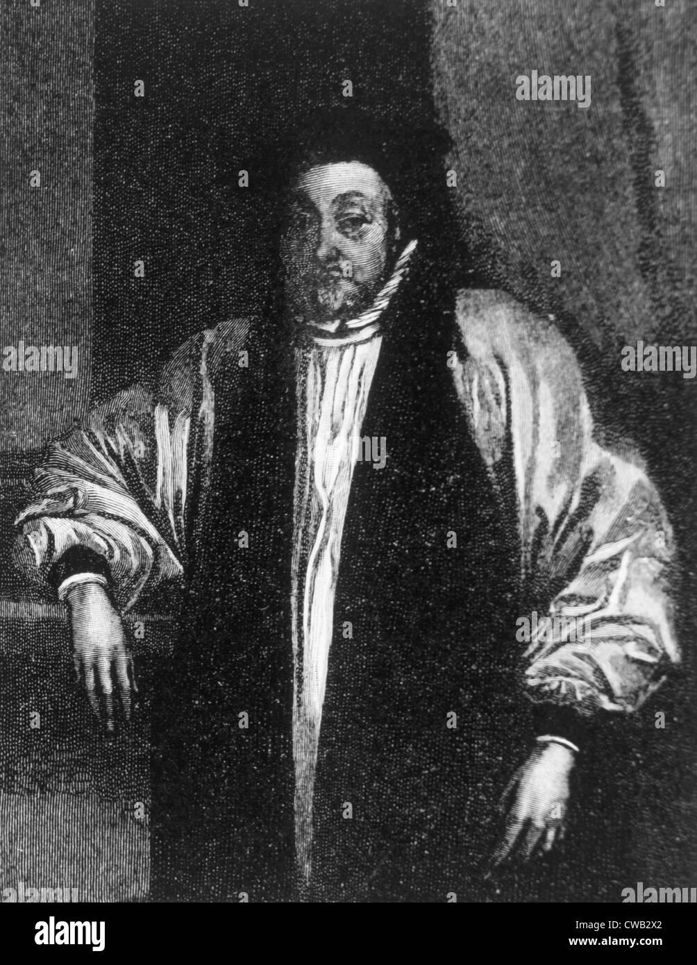 William Laud (1573-1645), Archbishop of Canterbury (1633-1645) - Stock Image