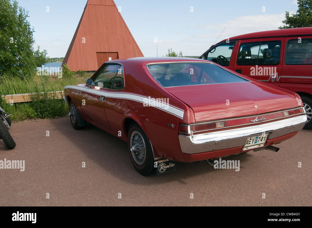 1968 Amc Javelin Muscle Car Pony Cars Classic American Stock Photo