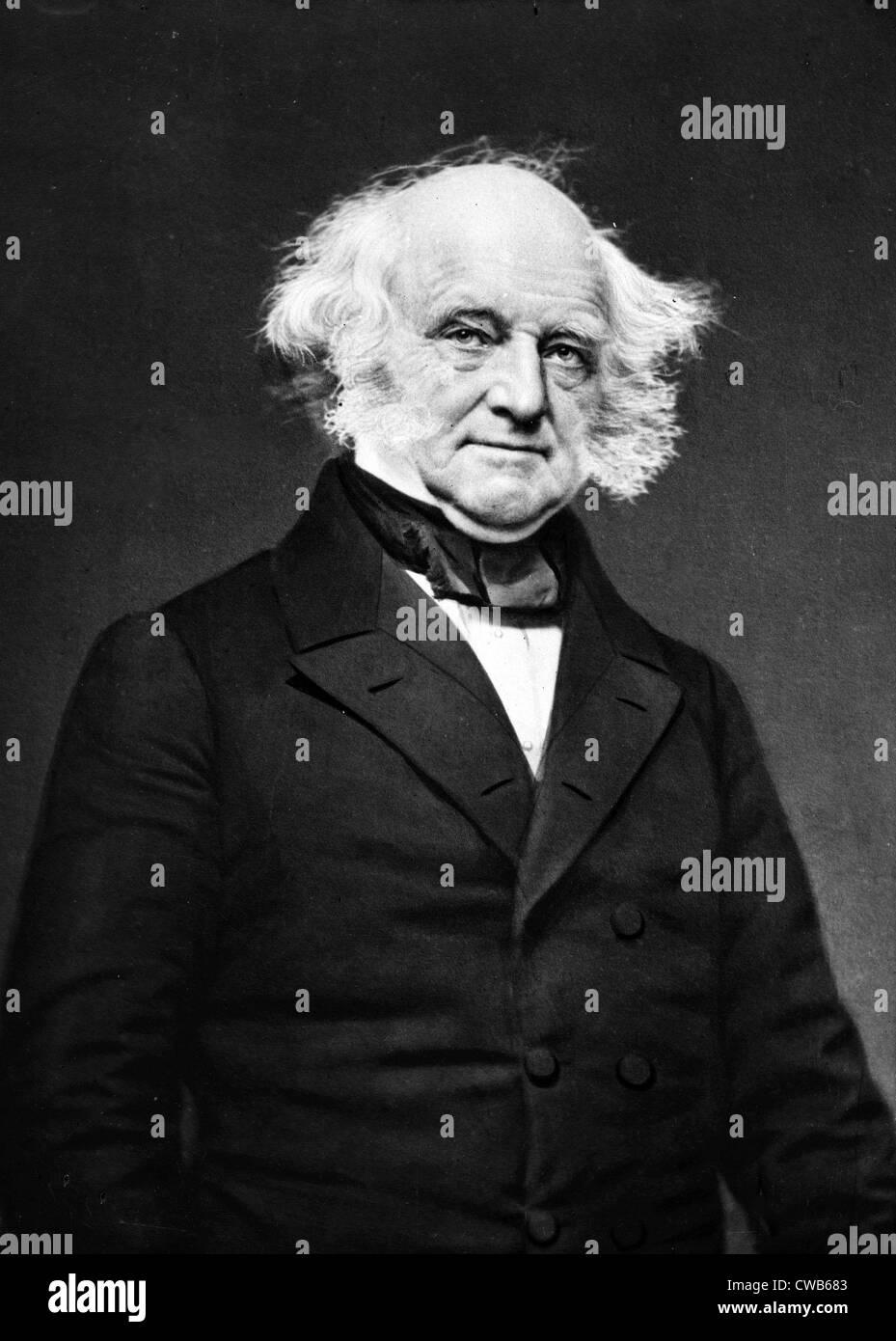 Martin Van Buren, ca. 1860s - Stock Image