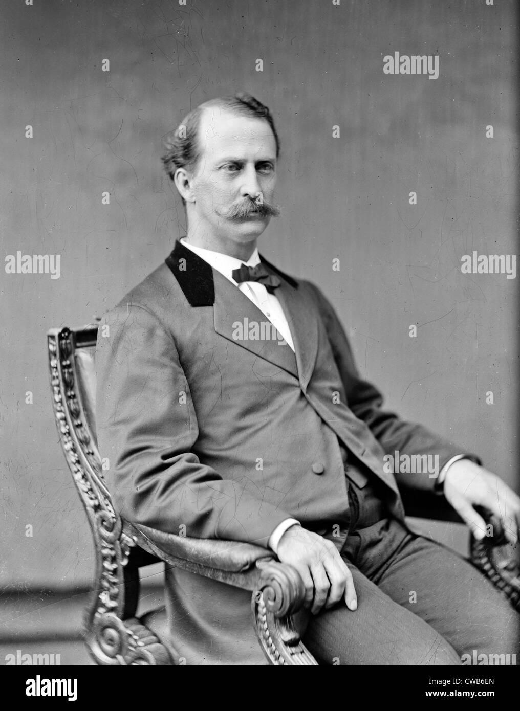 Prof. Edward M. Gallaudet, ca. 1870s - Stock Image