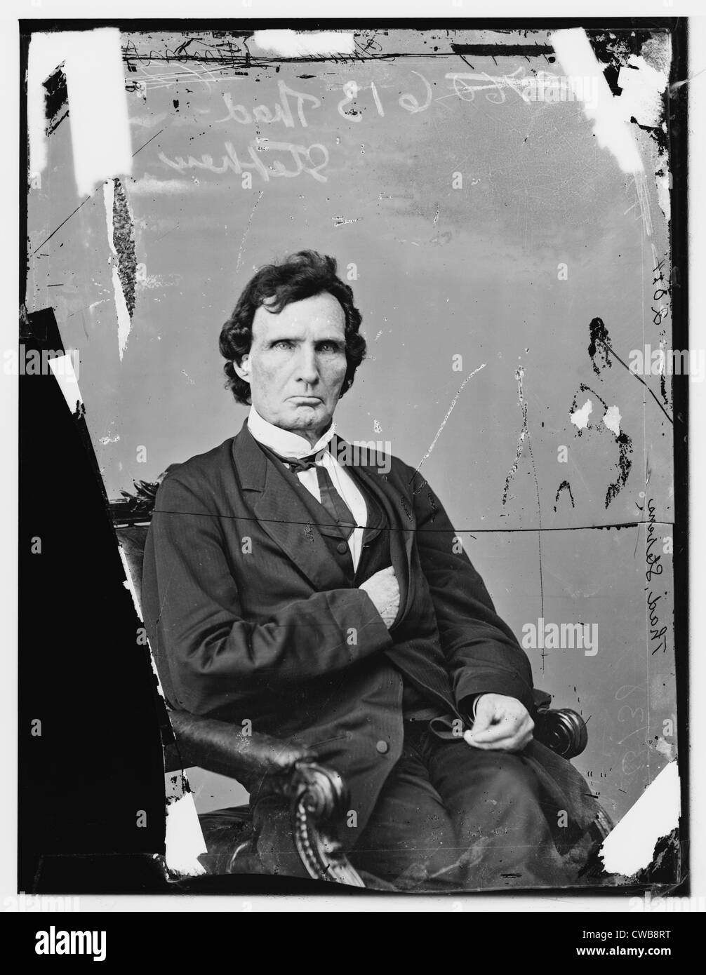 Hon. Thaddeus Stevens, 1860s - Stock Image
