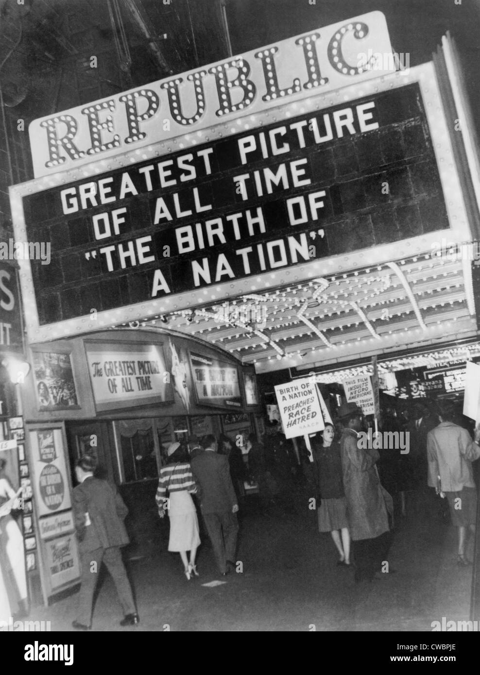 Old Movie Theater Black And White Stock Photos Images Alamy