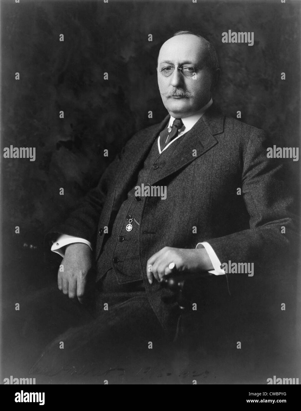 Cass Gilbert (1859-1934), was one of the leading American architects of the early 20th century. He designed two - Stock Image